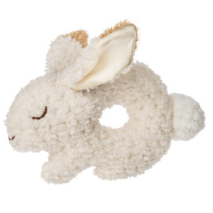 41708 Oatmeal Bunny Ring Rattle