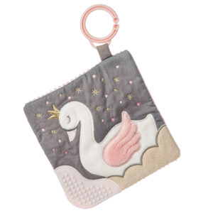 43106 Itsy Glitzy Swan Crinkle Teether