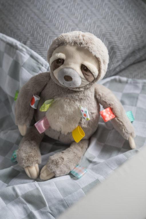 40241 Taggies Molasses Sloth Soft Toy