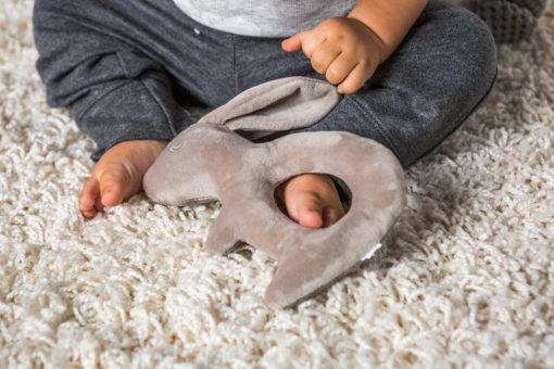 67420 Putty Nursery Bunny Rattle