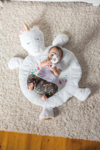 43078 Mary Meyer Twilight Baby Unicorn Baby Mat