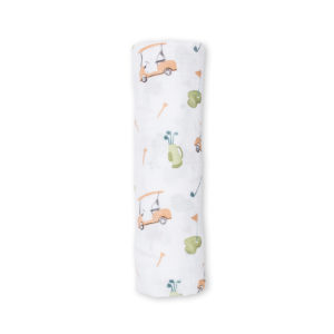 LJ439 Lulujo Golf Cotton Swaddle