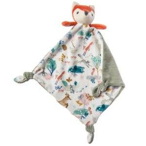 mary meyer little knottie fox blanket
