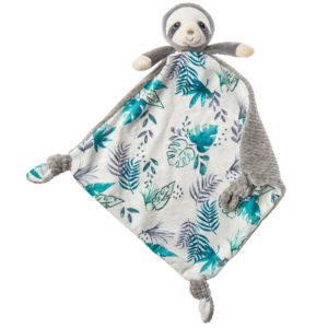 mary meyer little knottie sloth blanket