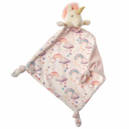 mary meyer little knottie unicorn blanket