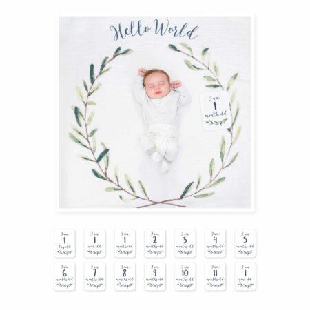 Lulujo Baby's First Year - Hello World