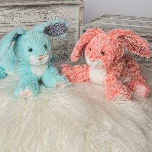 67712 67722 Mary Meyer FabFuzz Cherry Berry Bunny
