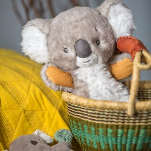 44114 Down Under Koala Lovey & Rattle