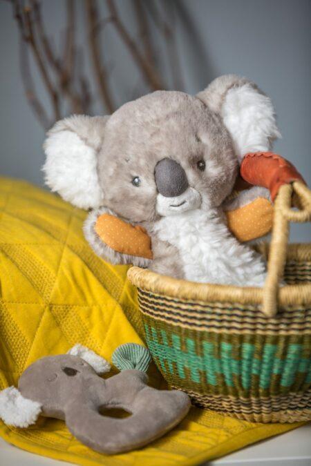 44114 Down Under Koala Lovey & Rattle