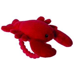 25396 Lobbie Lobster Rattle Teether