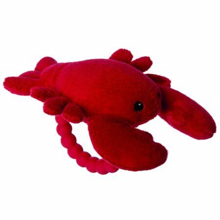 25396 Lobbie Lobster Rattle Teether