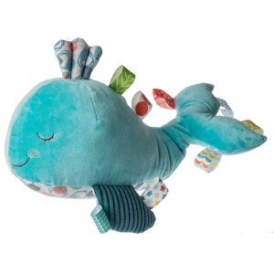 40281 Taggies Sleepy Seas Whale Soft Toy