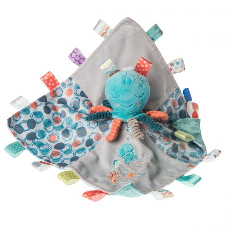 40284 Taggies Sleepy Seas Octopus Character Blanket