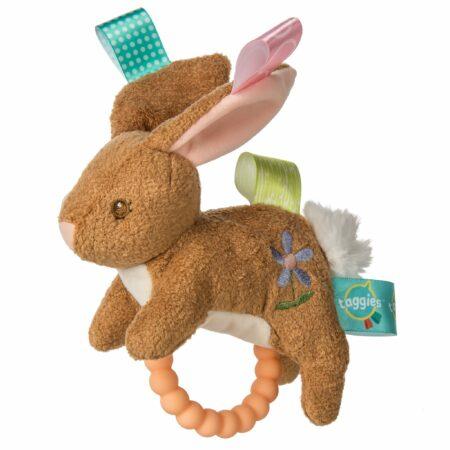 40290 Taggies Harmony Bunny Teether Rattle