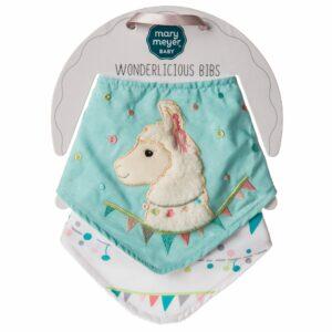 43066 Lily Llama Wonderlicious Bib Set