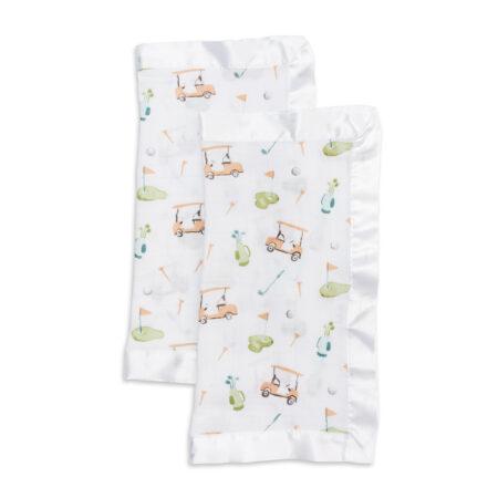 LJ075 Lulujo Golf Cotton Security Blankets