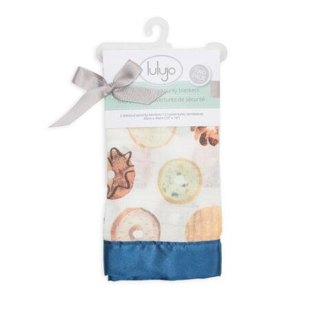 LJ078 Lulujo Ice Cream Cotton Security Blankets