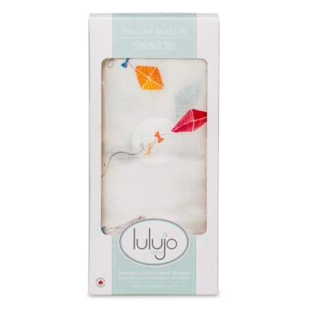 LJ148 Lulujo Kites Cotton Swaddle