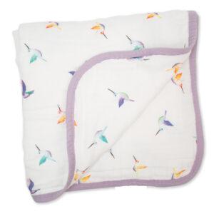 LJ309 Lulujo Hummingbird Quilt