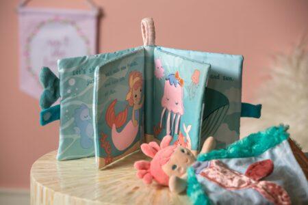 Marina Mermaid Soft Book, Character Blanket