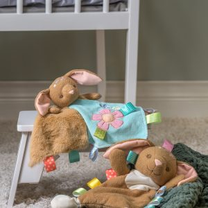 Taggies Harmony Bunny Lovey, Character Blanket