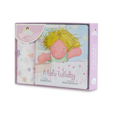 LJ810 Lulujo A Lulu Lullaby Book and Blanket Gift Set