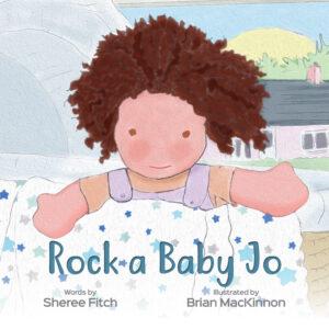LJ821 Lulujo Rock a Baby Jo Book