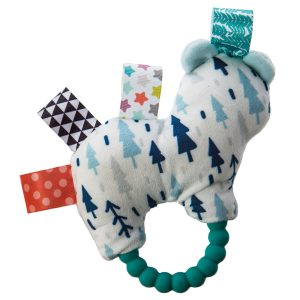 41524 Taggies Original Shake & Teethe Arctic Bear