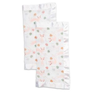LJ079 Lulujo Kitty Cotton Security Blankets