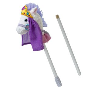 15760 Fancy Prancer Princess Pony 2-Piece Stick Horse