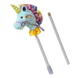 15770 Fancy Prancer Unicorn 2-Piece Stick Horse