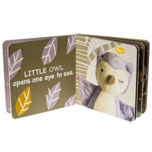 26121 Leika Little Owl Board Book