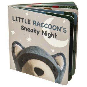 26131 Leika Raccoon Board Book