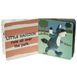 26131 Leika Raccoon Board Book