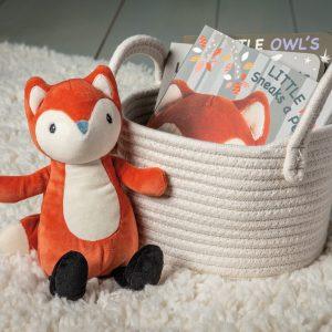 Leika Fox Lovey Soft Toy Book