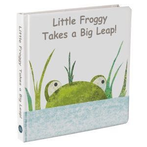 "27400 ""Little Froggy Takes a Big Leap!"" Board Book"
