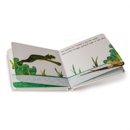 """27400 """"Little Froggy Takes a Big Leap!"""" Board Book"""