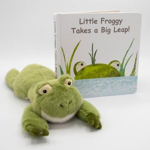 Froggy Board Book & Soft Toy