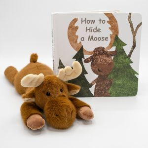 Moosey Board Book & Soft Toy