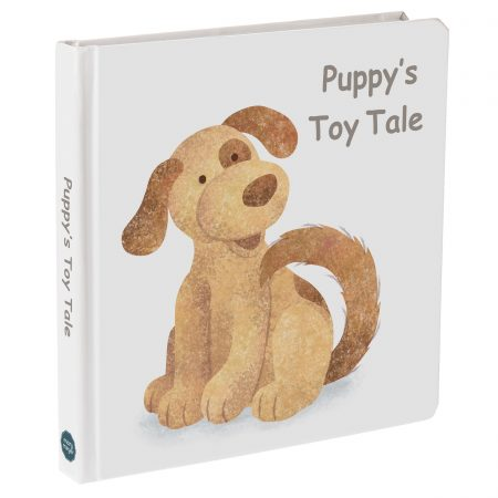 """27402 """"Puppy's Toy Tale"""" Board Book"""