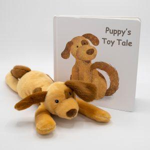 Puppy Board Book & Soft Toy