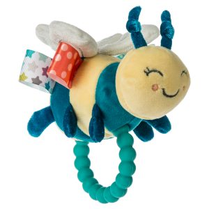 41530 Taggies Fuzzy Buzzy Bee Teether Rattle
