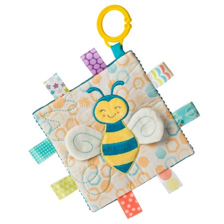 41531 Taggies Crinkle Me Fuzzy Buzzy Bee