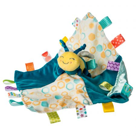 41533 Taggies Fuzzy Buzzy Bee Character Blanket