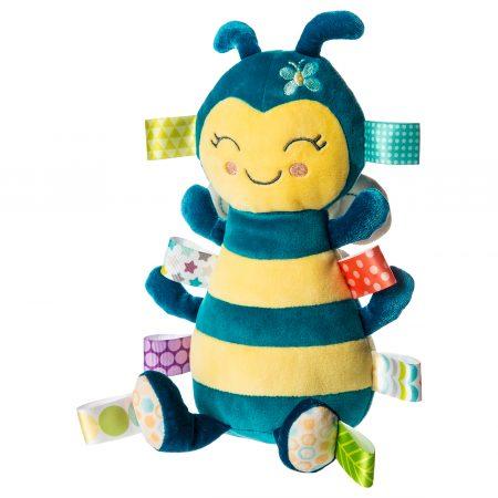 41534 Taggies Fuzzy Buzzy Bee Soft Toy