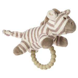 43220 Afrique Zebra Teether Rattle