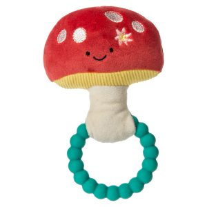 44550 Fairyland Mushroom Teether Rattle