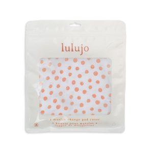 LJ726 Lulujo Change Pad Cover - Dots