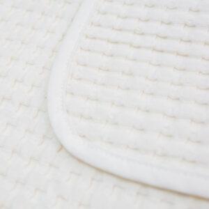 LJ759 Lulujo Waffle Blanket - Cream Vanilla