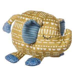 44560 Boho Baby Elephant Rattle